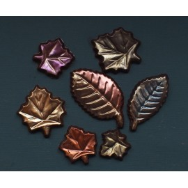 Fall Chocolate Leaves