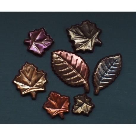 Fall Chocolate Leaves