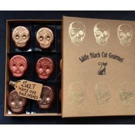 La Belle Morte- Sea Salted Caramel & Lime Skulls