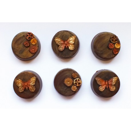 Butterfly Effect Chocolate Covered Oreos