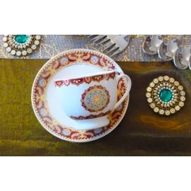 Mughal Royal Gold Tea Set
