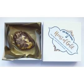 Heart of Gold Chocolate Bon Bon