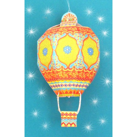 Printed Paper DIY Hot Air Balloon