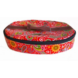 Paisley Red Cool Bag
