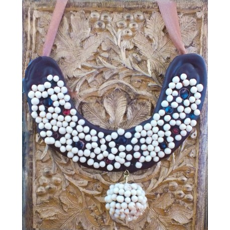 Chocolate Mothi Pearl Necklace