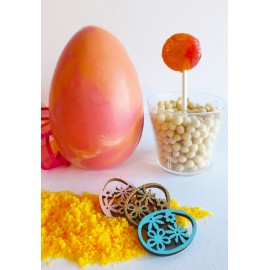 Dip & Lick Orange Sherbet Chocolate Egg
