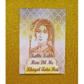 Kabhi Kabhi Card
