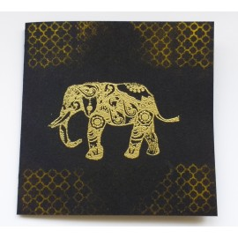 Golden Elephant Card