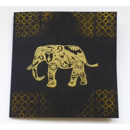 Golden Elephant Card