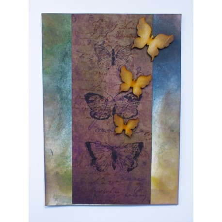 Butterflies in Autumn Card