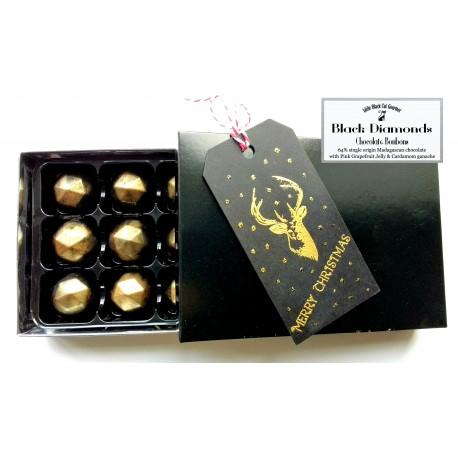 Black Diamonds Chocolate Bonbons