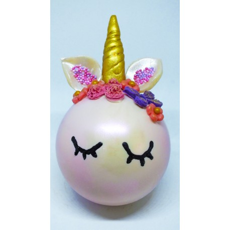 Unicorn Chocolate Bauble