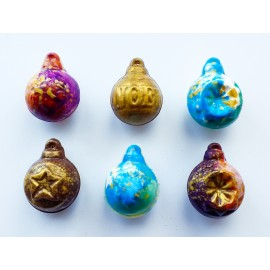Mini Chocolate Christmas Bauble Set