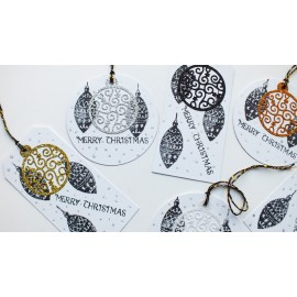 Bauble Christmas Gift Tags