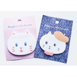 Cat Face Sticky Notepads
