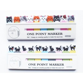 Cat Sticky Note Tabs
