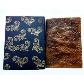 Shared Treasure - handmade faux leather keepsake with chocolate heart