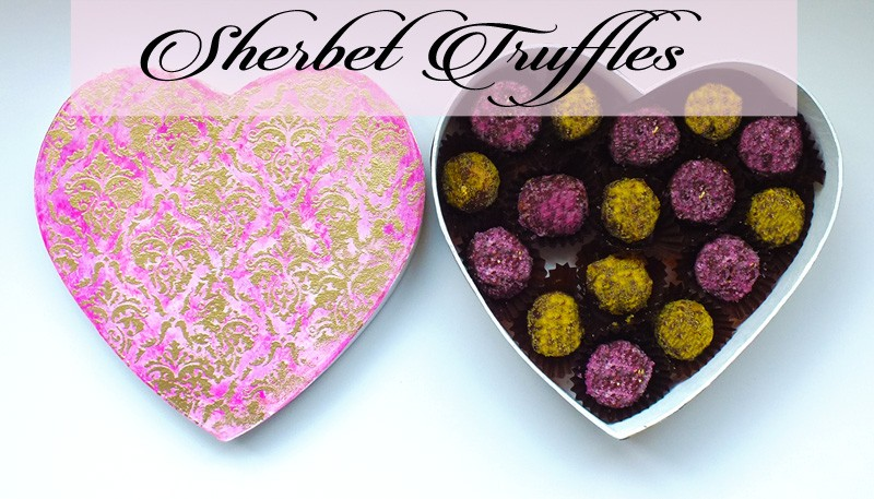 Sherbet Truffles Chocolate Box